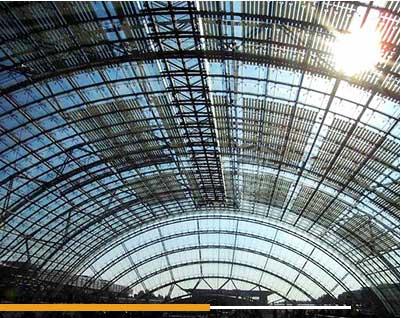 Estructuras Abovedadas de acero