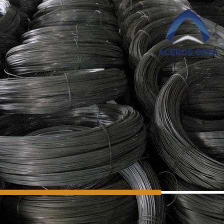 Rollos de alambre de acero recocido