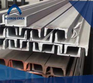 """Un canal estructural comprende al perfil conocido como canal CPS, que tiene forma en """"U"""". En Aceros Crea contamos con envíos a toda la república mexicana."""